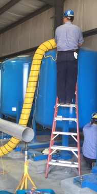 industrial water treatment service