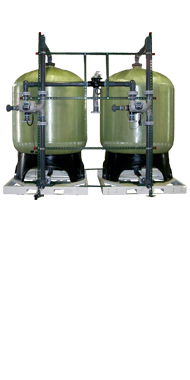 commercial twin tank water softener